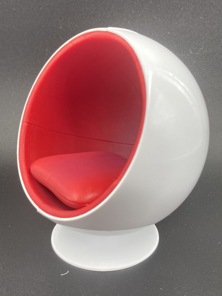 Design Interior Collection Designers Chair Ball Chair Kvadrat Tonus 4 Red 130 Kidult Kingdom